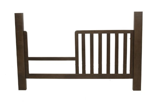 Kidz Decoeur Long Beach Convertible Crib Day Bed Conversion Kit, Chocolate front-627771