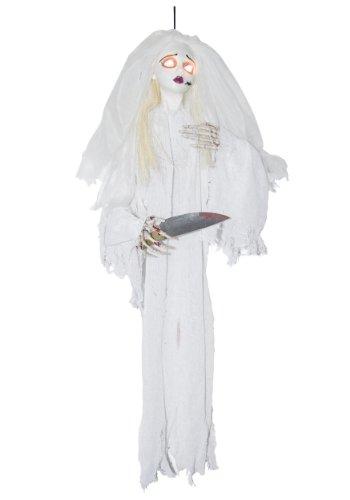 Animated Slashing Bride w/Knife Standard