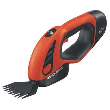 Factory-Reconditioned Black & Decker SSC1000R 7.2V Cordless Shear - Shrubber
