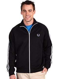 Fred Perry Track Jacket (Small, Black)