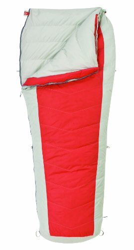 Kelty Coromell 25 Degree Down Sleeping Bag, Long, Molten Lava