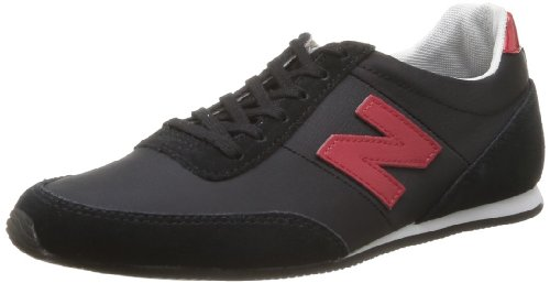 New Balance Women's S410 B 14E Trainers Black Noir (Black Red (079)) 7.5