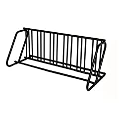 Hollywood Racks Dual Use 12 Bike Parking Stand (Black) by Hollywood Racks