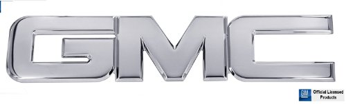 1988-1998 GMC Sierra 1500 Polished Front Grille Emblem By AMI (1994 Gmc Sierra Grille compare prices)