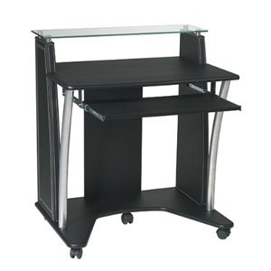 Buy Low Price Comfortable Infinity Computer Cart – Black (B002GPP7QE)