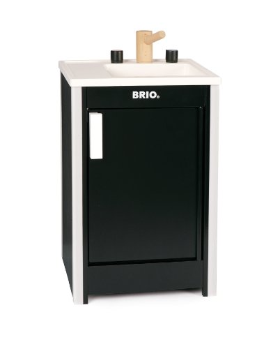 Brio Kitchen Sink, Black front-6494