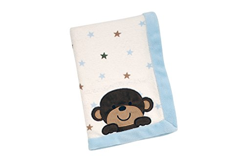 Carter's Monkey Collection Blanket