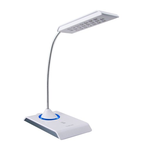 Daffodil LEC200 – USB Keyboard Light – Desk Lamp with 22 LED Bulbs – Dimmable Reading Table Light (White)