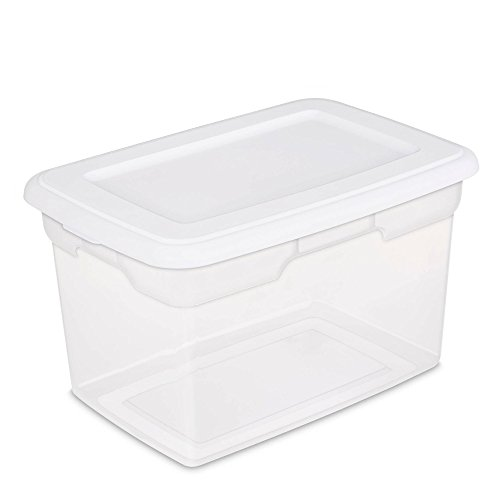 Sterilite-20-Quart-Storage-Box-White-Case-of-6