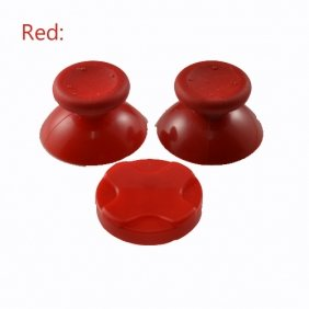 258Stickers® Xbox 360 Red Controller Thumbsticks + D Pad 18 Optional Colors