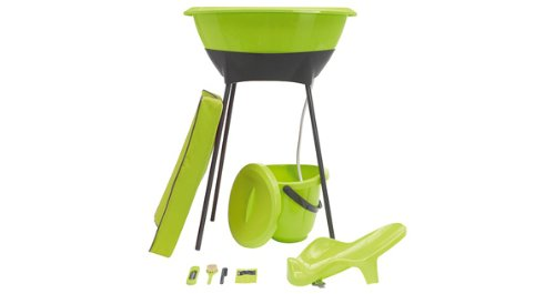 Luma Complete Bath Set, Lime Green