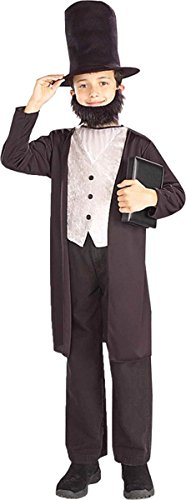 Child's Abraham Lincoln Costume Size Large (12-14)