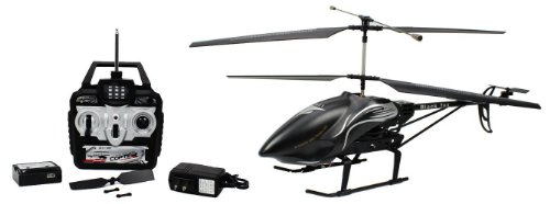 Electric Black Fox 3.5CH GYRO Large Size RTF RC Helicopter