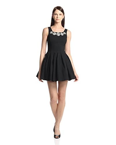 Gracia Women's Embellished Fit-and-Flare Dress