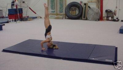 5'x10' Gymnastics Tumbling Martial Arts V4 Folding Mat