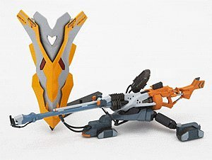 Amazon.com: Revoltech Neon Genesis Evangelion Positron Rifle & Shield