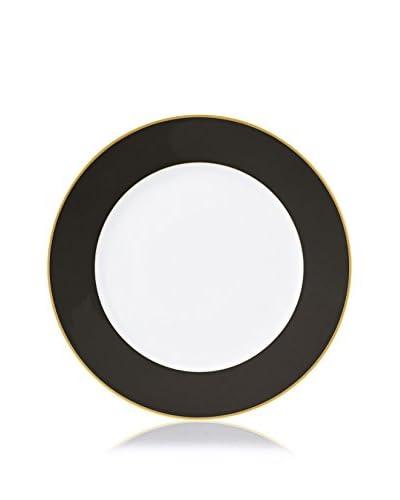 Haviland Color Block Charger Plate, Gold/Black