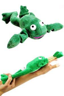 """""""Freddie"""" the Flying Slingshot Frog"""