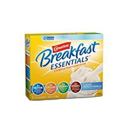 Carnation Instant Breakfast Essentials Classic Vanilla Flavor Powder Mix 9 oz. [Box of 10]