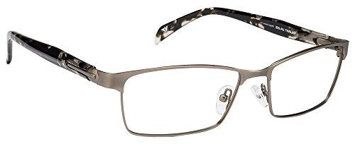 Vincent Chase VC 6480 Matte Gunmetal Tortoise C2 Eyeglasses(102963)