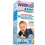 THREE PACKS of Vitabiotics Wellkid Baby Syrup