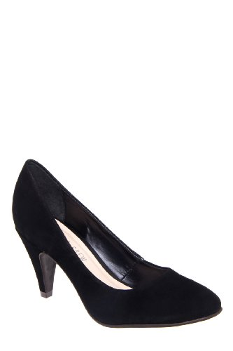 Pepper Mid Heel Almond Toe Pump