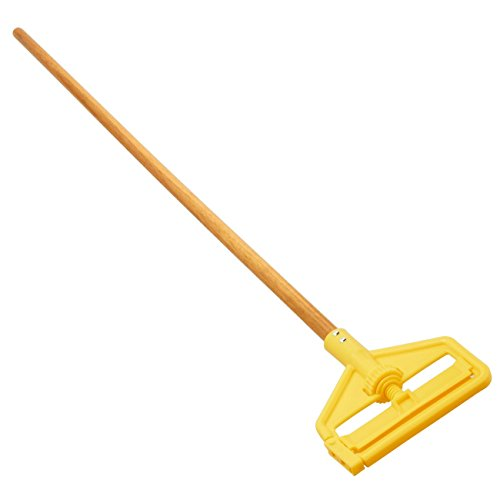 Rubbermaid Commercial Products FGH115000000 Commercial Invader Side-Gate Hardwood Handle Wet Mop (Pack of 12)