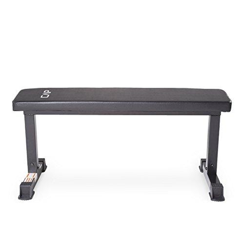 Cap Barbell Flat Weight Bench Black