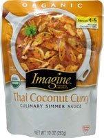 Imagine Foods Culinary Simmer Sauce Thai Coconut Curry -- 10 oz (Coconut Curry Simmer Sauce compare prices)