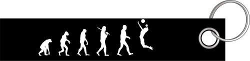 VOLLEYBALL II BEACHVOLLEYBALL VOLLEY BALL Evolution Schlüsselanhänger Schlüsselband Keyholder Lanyard
