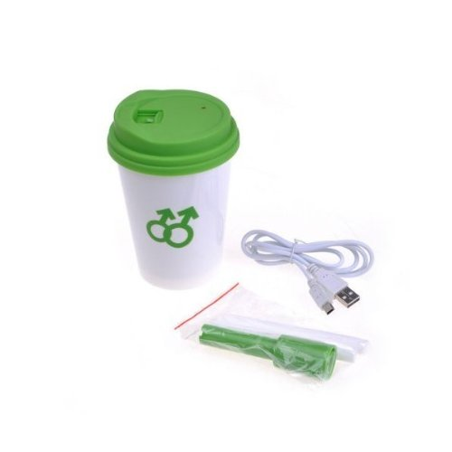 Neewer Portable Mini USB Coffee Cup Style Air Humidifier Purifier