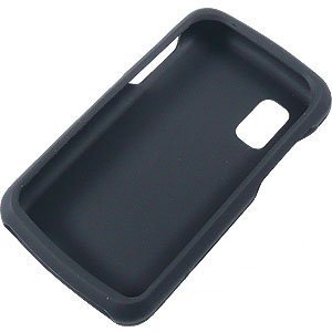 Black Silicone Skin Cover Case Cell Phone Protector for Samsung Magnet A257