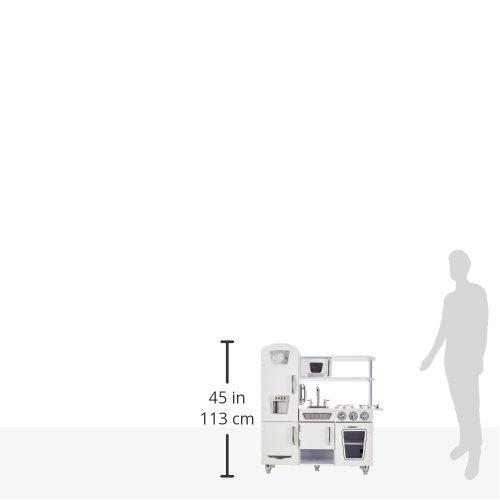 KidKraft 53208 – Weisse Retro Küche