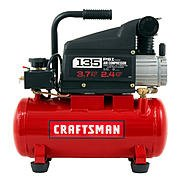 Craftsman 3 Gal portable air compressor w/ 3 pc kit