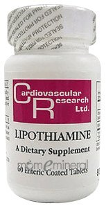 Lipothiamine 60 Tablets by Ecological Formulas