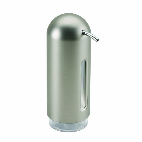 Umbra Penguin Soap Pump, Nickel