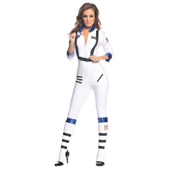 Blast Off Astronaut Adult Costume Size X-Large (16-18)