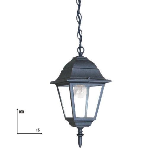 Lanterna a catena per arredo giardino cm 15x100