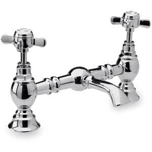 Beaumont Traditional Chrome Bridge Basin Mixer Tap I315X       reviews and more news