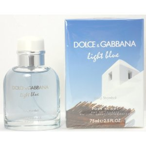 Dolce & Gabbana Light Blue Living in Stromboli Eau de Toilette Spray for Men, 2.5 Fluid Ounce