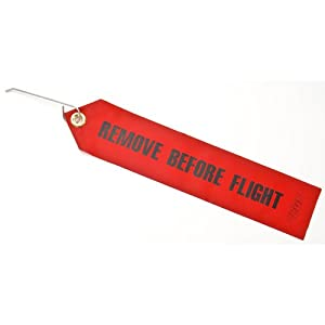 JEGS Performance Products 1200 Remove Before Flight Tag with Lock Pin