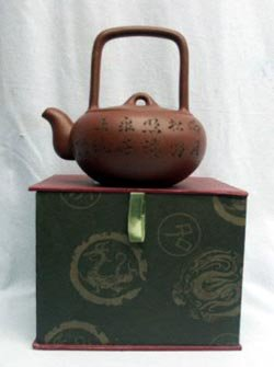 Handmade Yixing Tea Pot With Gift Box,T009 From Hollow Creek Bonsai