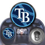 Tampa Bay Rays 2-pack Coaster Air Freshener Auto Car Truck Baseball at Amazon.com