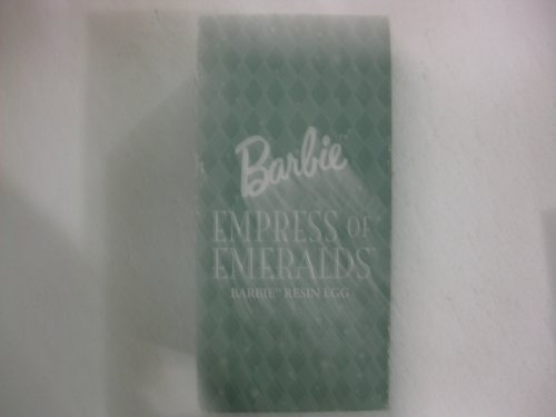 Barbie Empress Of Emeralds Barbie Resin Egg From Mattel 2000 (Resin Barbie compare prices)
