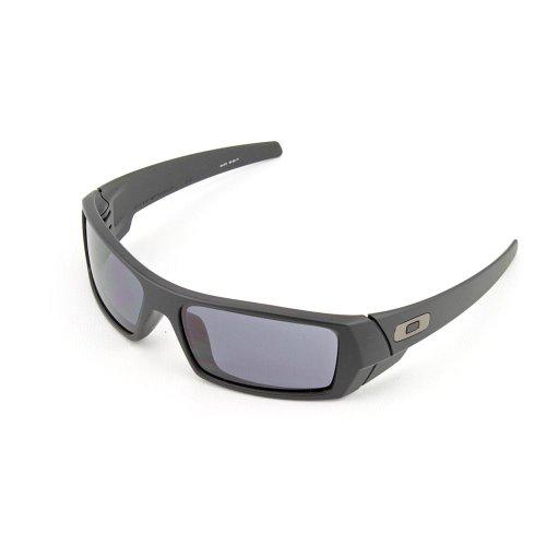 Oakley Gas Can Matte Black/Grey Sunglasses 03-473 (Gas Can Sunglasses compare prices)
