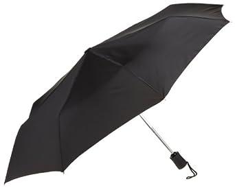 Lewis N. Clark  Automatic Travel Umbrella,Black,One Size