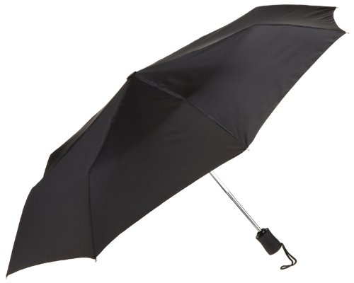 Lewis N. Clark  Automatic Travel Umbrella,Black,One Size