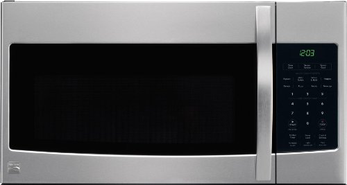 Kenmore 80333 Microhood Stainless Steel Over-The-Range Microwave (1.7 Cu Ft, 1000 Watts)