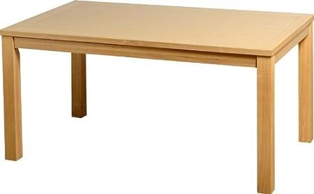 Belgravia Table à manger placage chêne naturel