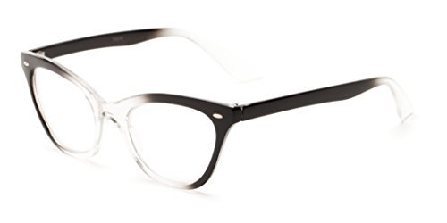 readerscom-the-laura-100-black-clear-fade-womens-cat-eye-reading-glasses-by-readers